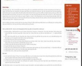 Website công ty diệt mối 2