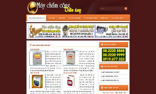 may cham cong van tay