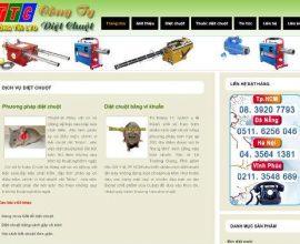 Website công ty diệt chuột