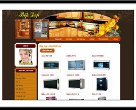 Website bếp đẹp