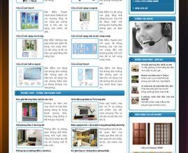 Xây dựng website cửa sổ