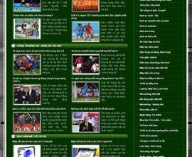 Dự án website thế giới bóng đá