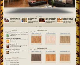 Dự án website ván nhựa