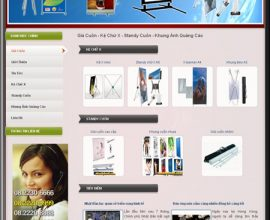 Dự án thiết kế website giá cuốn