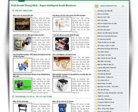Dự án website kinh doanh thông minh