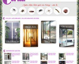 Dự án thiết kế web cửa lưới
