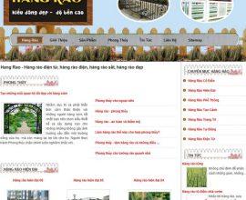 Thiết kế web hàng rào