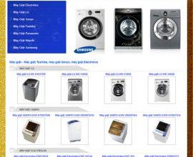 Dự án web máy giặt