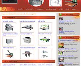 Website máy in áo