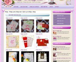 Design website thiệp