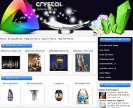 Design website Pha Lê