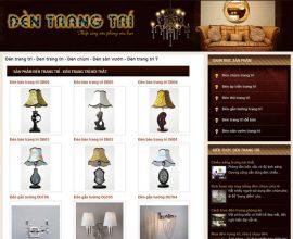 Website đèn trang trí