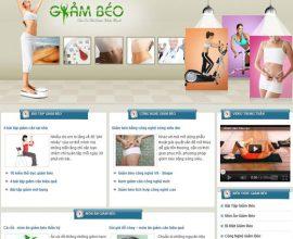 Xây dựng website Giảm Béo
