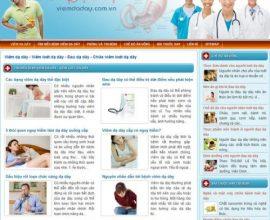 Dự án web Viêm dạ dày