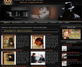 Website dịch vụ thám tử