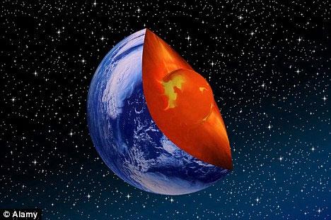 Nghiên cứu nguyên tố sắt trong nhân Trái đất sẽ giúp chúng ta hiểu thêm về sự hình thành cũng như hoạt động của từ trường Trái đất.