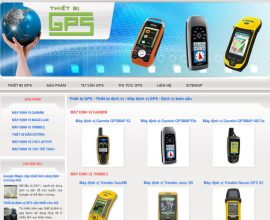 Website thiết bị GPS