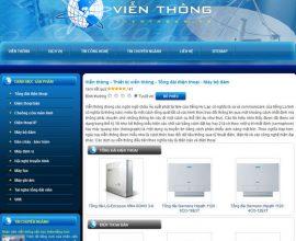 Thiết kế web Viễn thông