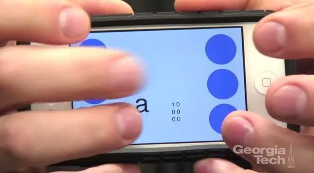 Ứng dụng Brailletouch