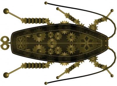 Cấy ghép máy móc vào côn trùng