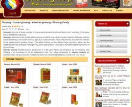 Design website Ginseng
