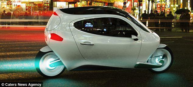Nhà sản xuất nói rằng C1 kết hợp sự an toàn của xe hơi với sự thoải mái, dễ chịu khi điều khiển mô-tô.