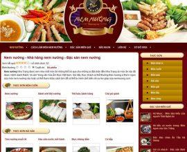 Website Nem nướng