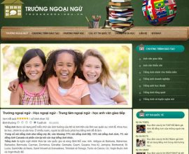 Trường ngoại ngữ
