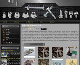Website Ốc vít - Đinh vít