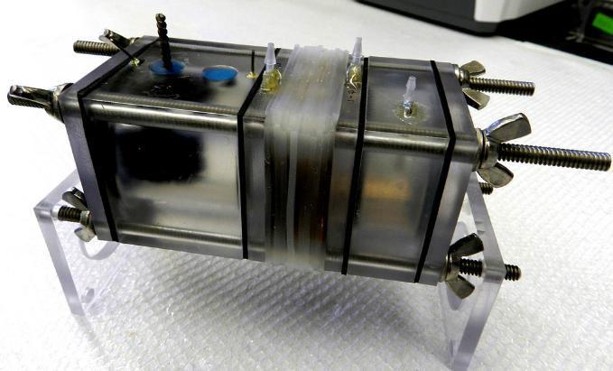 Nguyên mẫu thiết bị phát điện từ nước thải