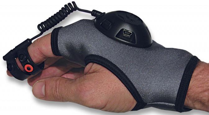 Găng tay thay thế chuột máy tính.