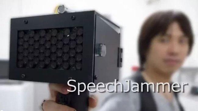 Thiết bị Speech jammer