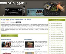 Sửa Ampli - Dịch Vụ Sửa Ampli