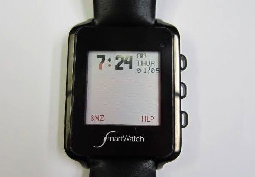 """""""Đồng hồ thông minh"""" với màn hình mực e-ink và tương thích hai hệ điều hành Android và iOS."""