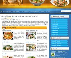 Xây dựng website Bún