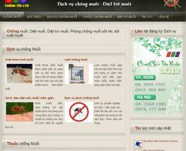 Thiết kế web chống muỗi