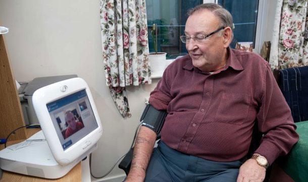 Hộp giám sát sức khỏe từ xa - Teleheath