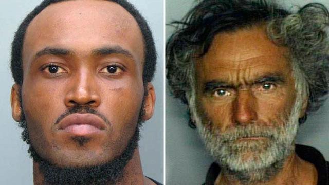 Tên sát nhân man rợ Rudy Eugene (trái) và nạn nhân của hắn.