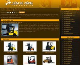 Website sửa xe nâng