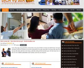 Website dịch vụ sửa nhà