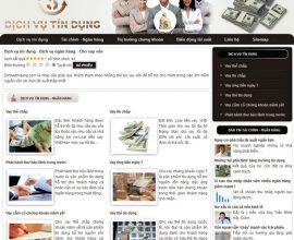 Website dịch vụ tín dụng