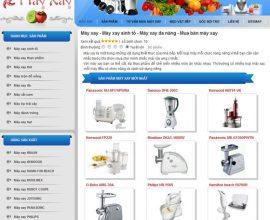 Thiết kế web máy xay - Máy xay đa năng