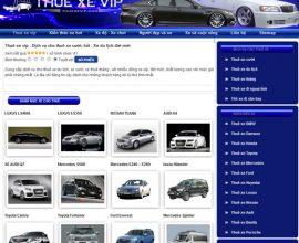 Dịch vụ cho thuê xe hơi