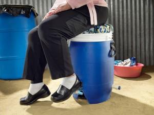 Máy giặt chạy bằng sức người - Công nghệ mới