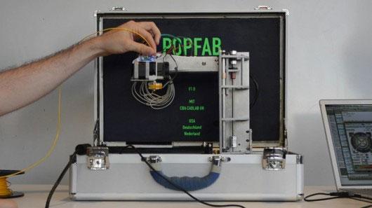 Công nghệ in 3D đã nằm gọn trong 1 chiếc vali