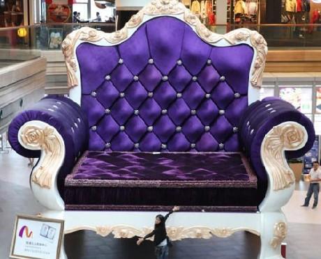 Chiếc ghế lớn nhất thế giới cao gần 7m