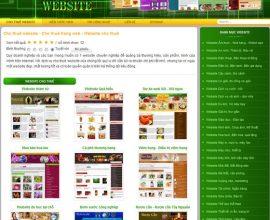 Dự án cho thuê website
