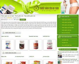 Thuốc giảm cân - Viên giảm cân
