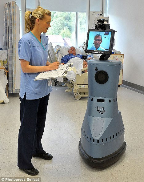 Robot chẩn đoán bệnh