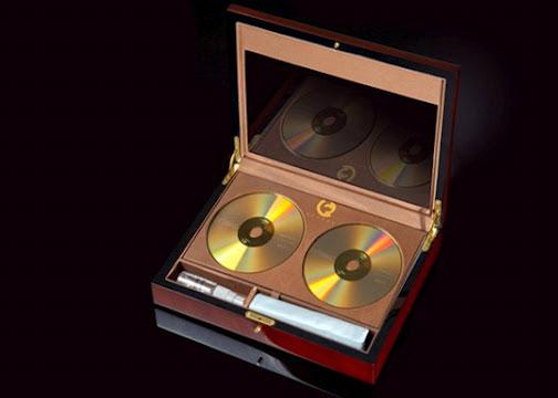 DVD thủy tinh vàng có thể lưu trữ dữ liệu dài hơn 100 năm